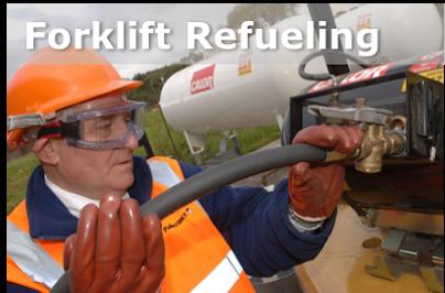 Forklift Refuelling