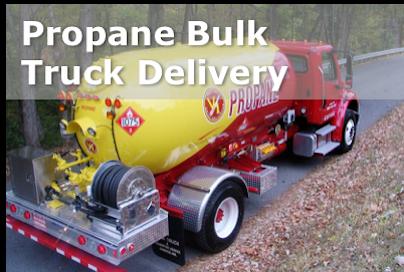 Propane Bulk Truck Delivery